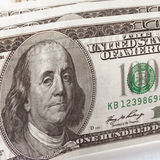 Close up of dollar bill Stock Image