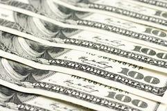 Close-up of dollar bills Stock Photos