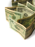 Close-up of dollars 2 Royalty Free Stock Image