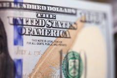Close up dollars Royalty Free Stock Image