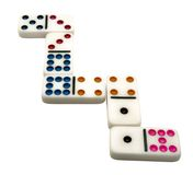 Close-up of dominos Royalty Free Stock Photography