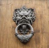 Door knocker. Close up of door knocker stock photo