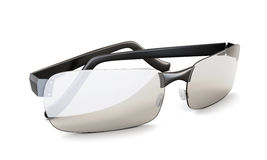 Close up dos óculos de sol da praia 3d Imagens de Stock Royalty Free