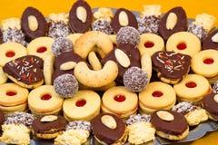 Close up dos biscoitos Imagens de Stock