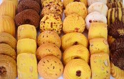 Close up dos biscoitos Foto de Stock Royalty Free