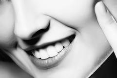 Close-up dos bordos da mulher Imagem de Stock Royalty Free