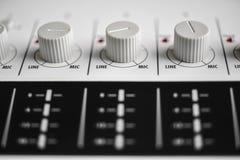 Close up dos botões Fotos de Stock