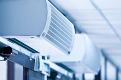 Close-up dos condicionadores Foto de Stock