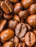 Close up dos feijões de café Fotografia de Stock Royalty Free