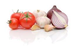 Close-up dos legumes frescos Foto de Stock