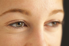 Close-up dos olhos Fotos de Stock Royalty Free