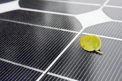 Close up dos painéis solares Imagens de Stock