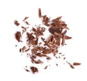 Close up dos pedaços de chocolate Foto de Stock Royalty Free
