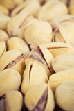 Close-up dos pistachios Imagem de Stock