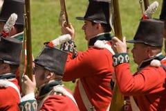 Close-up dos soldados imagens de stock royalty free