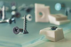 Close-up dos sundries da mobília Imagens de Stock Royalty Free