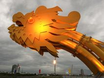 Close up from the Dragon Bridge Stock Photography