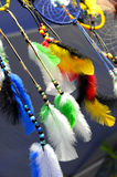 Close up of Dream Catchers Royalty Free Stock Photo