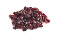 Close-up on a Dried Cranberries Stock Photos