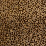 Close up of dried dog food background, texture stock image
