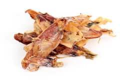 Close up of dried squid Stock Photos