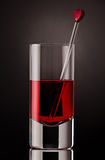 Close up of a drink Royalty Free Stock Image