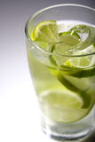 Close up of drink - studio shot Royalty Free Stock Images