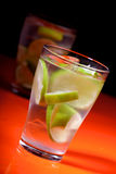 Close up of drink - studio shot Stock Photography
