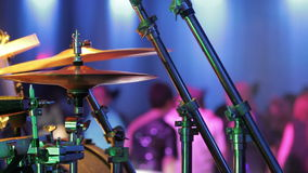 Close-up of Drummer Playing stock footage