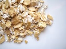 Oatmeal Grains: Healthy and Tasty royalty free stock images