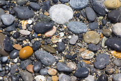 Close up of dry round reeble stones Stock Image