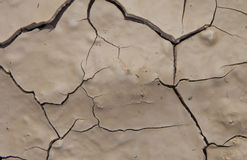 Close-up of dry soil Royalty Free Stock Photography