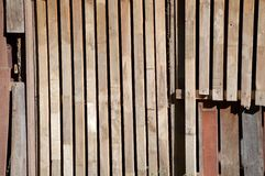 Dry wood wall texture Royalty Free Stock Photos