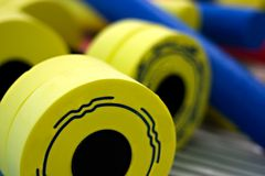 Close-up dumbbell Royalty Free Stock Photos