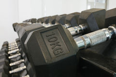 Dumbells Stock Photo