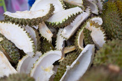 Close up Durian shell Royalty Free Stock Photos