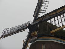 Close up of Dutch windmill Stock Photography