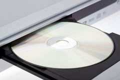 Close up of a DVD player Royalty Free Stock Photos