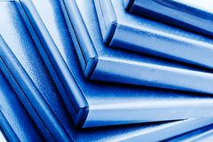 Close-up of DVDs boxes Stock Photos