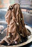 Dye Cloth stock photo