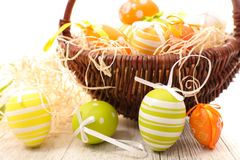 Easter egg decorated Royalty Free Stock Images