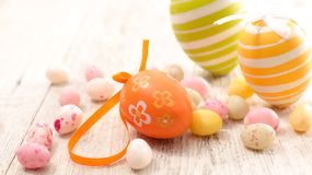Easter egg decorated Stock Photography