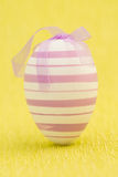 Close up on easter egg standing Royalty Free Stock Photography