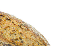 Close up of ecological wheat and rye bread with sesame seeds Royalty Free Stock Photos