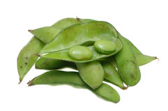 Close up of edamame Royalty Free Stock Images