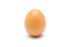 Close up of an egg  Royalty Free Stock Photos