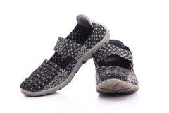 Close up of elastic shoes on white background Stock Image