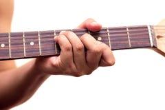 Close up of an electric guitar Stock Image