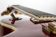 Close up of a electric guitar Stock Image