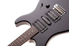 Close up of an electrical guitar Royalty Free Stock Images